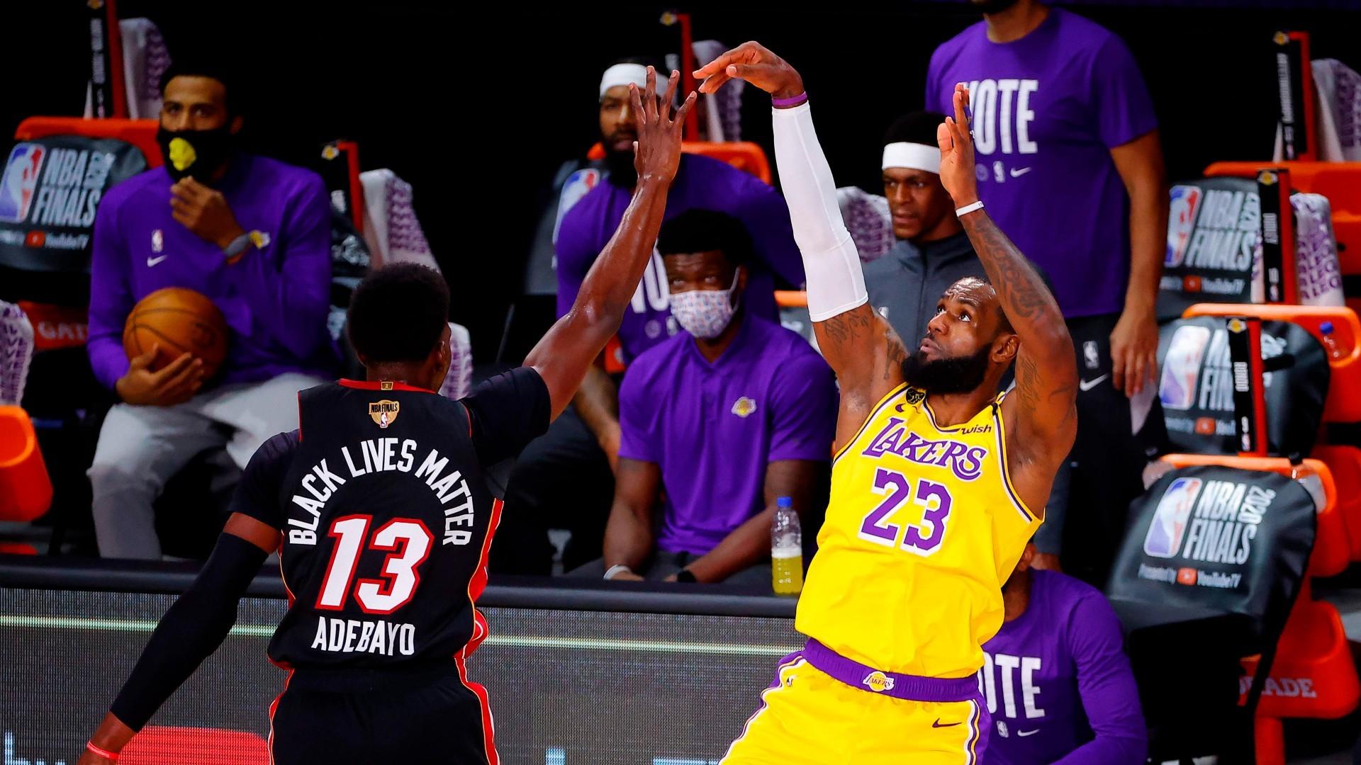Este viernes Lakers y Heat vuelven al tabloncillo en el segundo de las Finales de la NBA