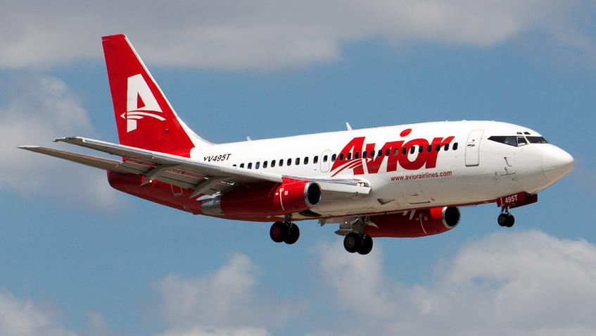Avior plantea reactivar vuelos no regulares en noviembre