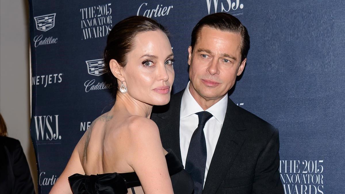 Angelina Jolie no permitía a Brad Pitt ver a sus hijos