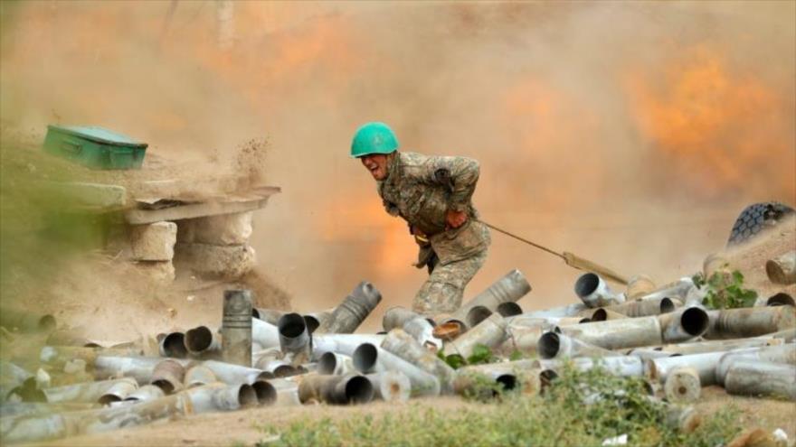 Armenia/Azerbaiyán.- Al menos 54 militares armenios muertos en los combates del jueves en Nagorno Karabaj