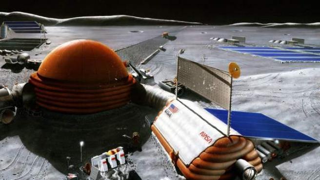 La NASA planea volver a la luna construir su primera base y quedarse