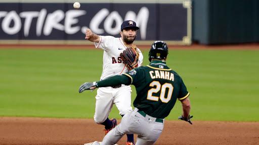 Astros de Houston y Atléticos de Oakland otro duro duelo en playoffs de grandes ligas