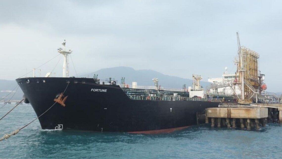Llega a Amuay segundo buque con gasolina procedente de Irán