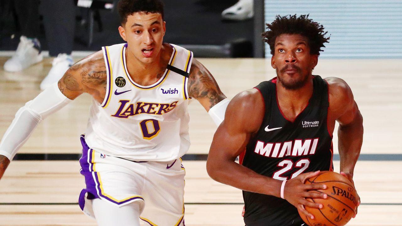Butler aprovecha la falta de intensidad de los Lakers y da el triunfo a los Heat