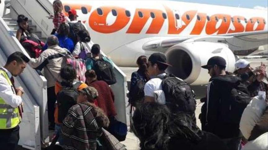 Plan Vuelta a la Patria:  239 venezolanos retornan desde Chile en vuelo de Conviasa