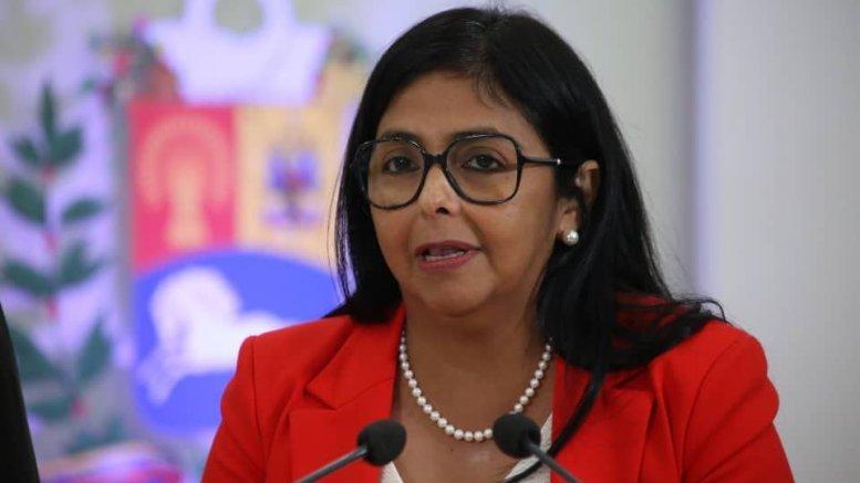 Delcy Rodríguez anunció flexibilización parar eventos deportivos y musicales