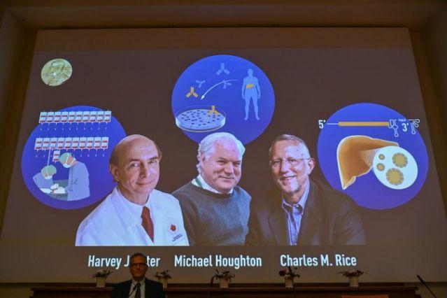 Descubridores del virus de la hepatitis ganan el Nobel de Medicina
