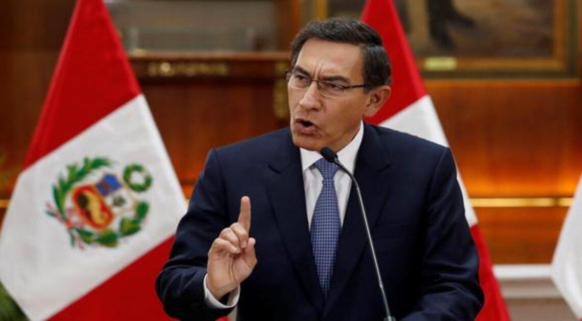 En Perú buscan nueva moción de censura contra el presidente Vizcarra por supuestos sobornos