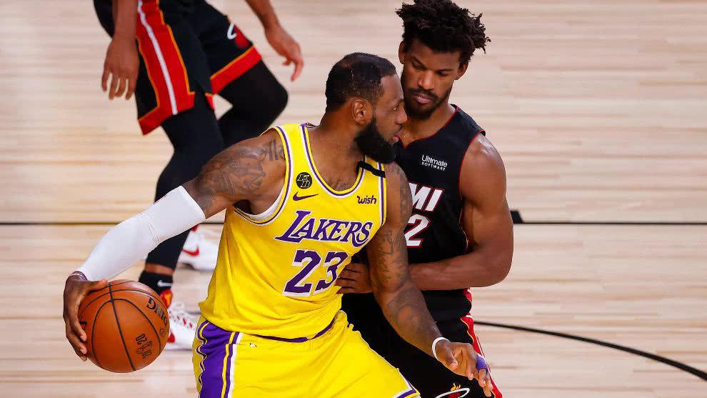 Los Lakers ya acarician el titulo tras sumar su tercera victoria en las Finales de la NBA