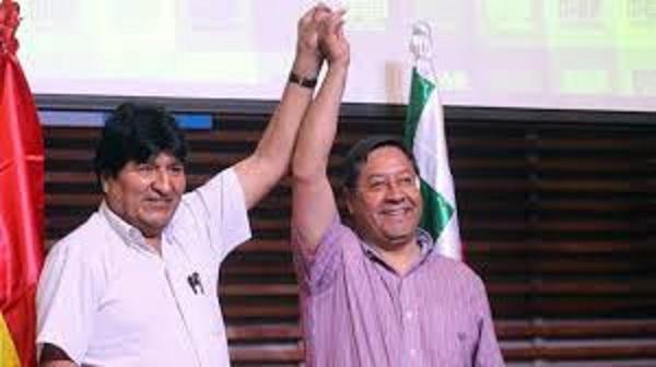 Luis Arce de MAS ganó elecciones de Bolivia en la primera vuelta