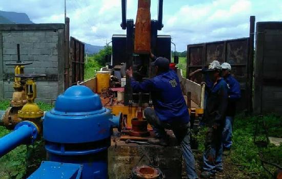 Chivacoa cuenta con 5 pozos agua potable activos