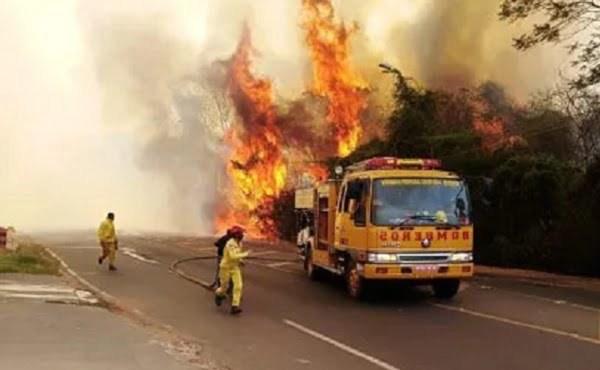 Paraguay en emergencia nacional por numerosos incendios