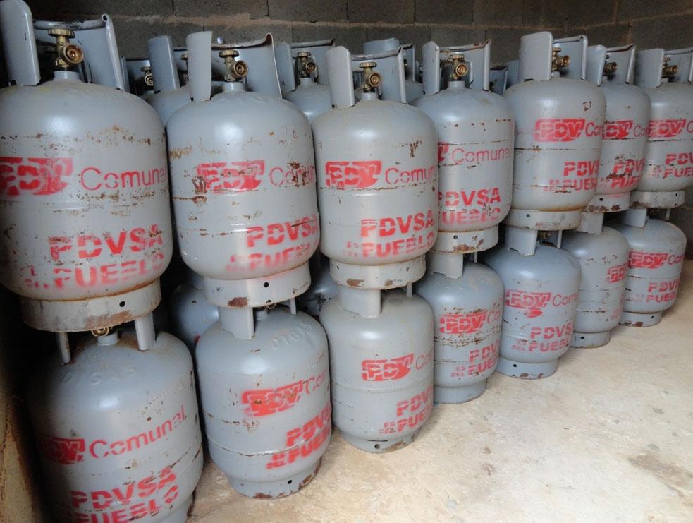 Precio del gas doméstico se mantiene en Yaracuy