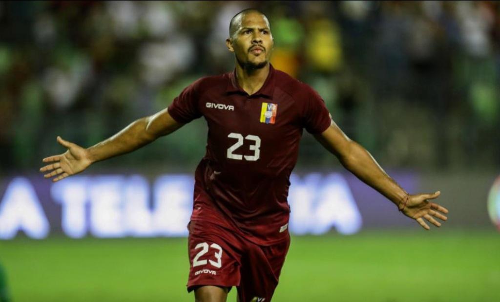 Salomón Rondón en duda para los primeros partidos de Eliminatorias