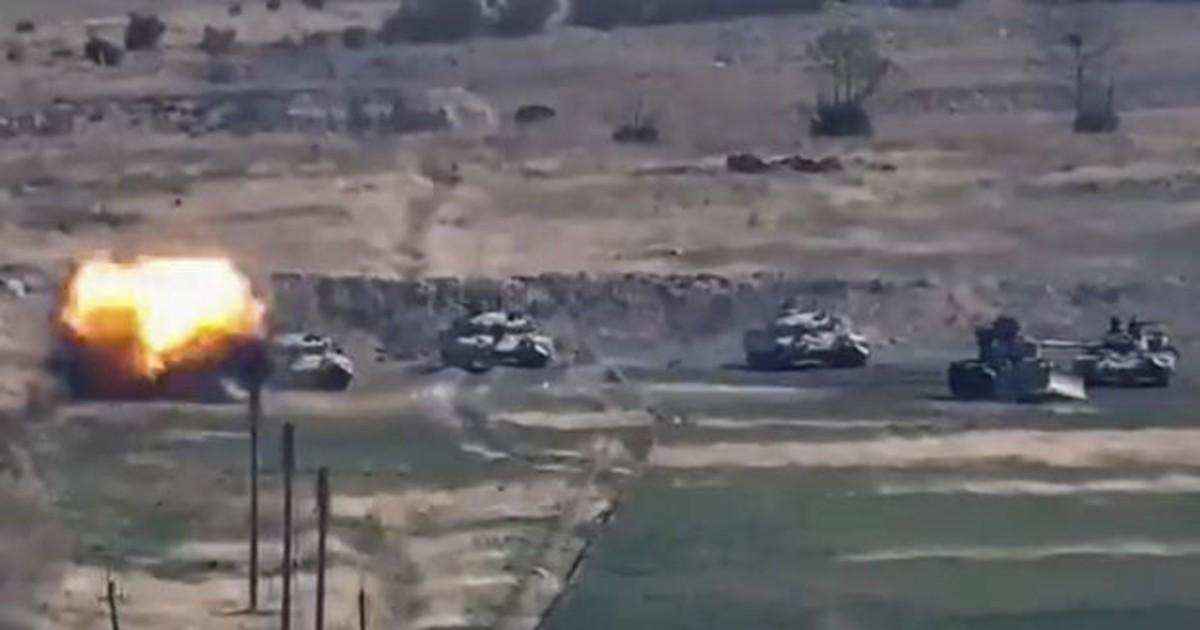 Azerbaiyán solo aceptará la retirada de las tropas de Armenia en Nagorno Karabaj