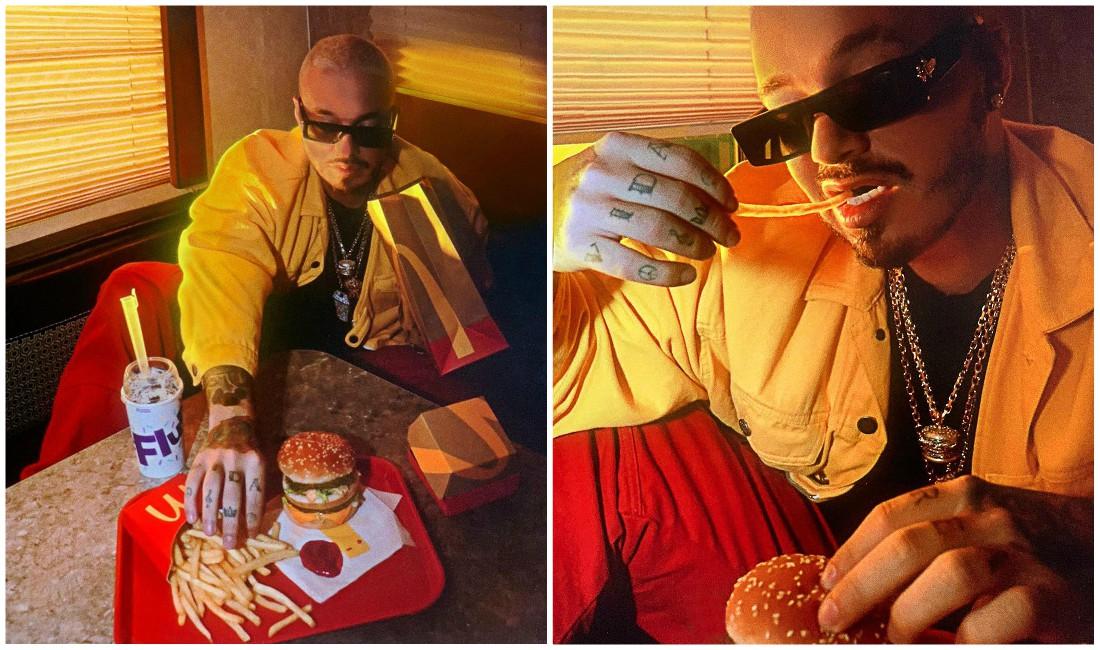 McDonald's lanza un combo inspirado en el cantante colombiano J Balvin