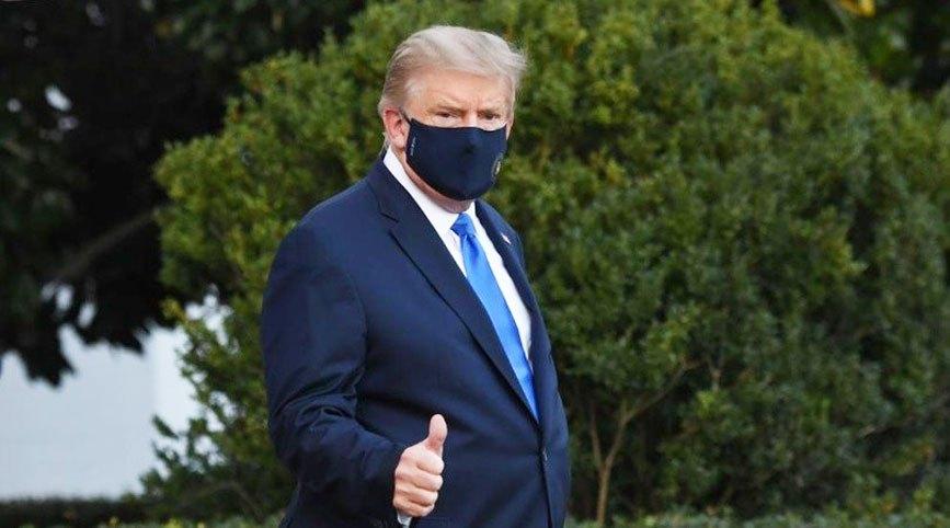 """Donald Trump es dado de alta """"Me siento mejor que hace 20 años"""""""