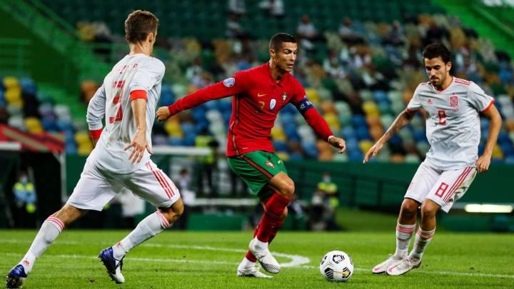 Amistosos FIFA: España y Portugal empataron, Croacia remonta a Suiza y Francia golea a Ucrania