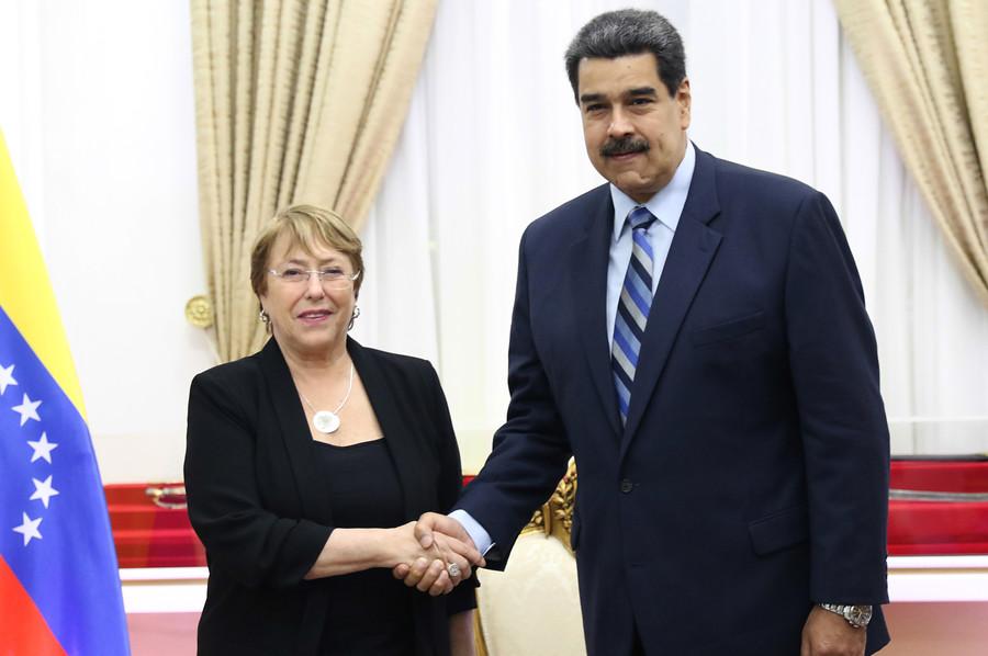 Maduro y Bachelet se reúnen tras el informe crítico de Naciones Unidas contra Venezuela