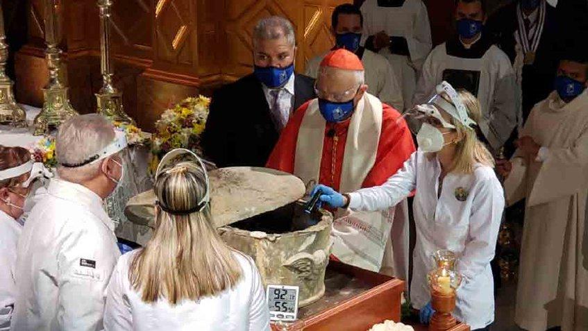 Arquidiócesis confirmó que restos exhumados pertenecen a José Gregorio Hernández