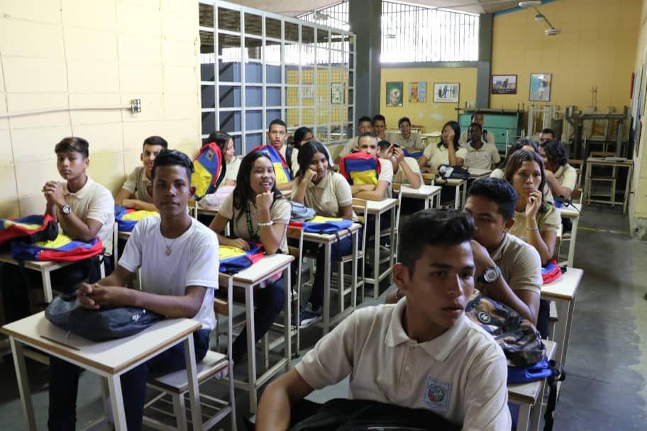 117 liceos activados en Yaracuy en inicio de nuevo lapso académico