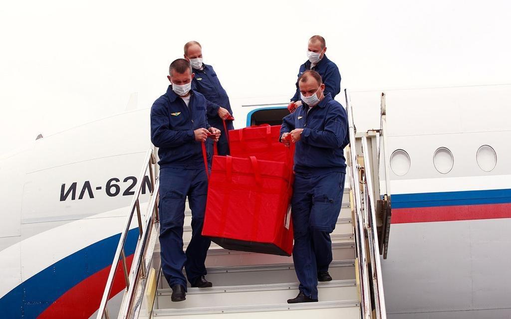 Venezuela recibe 2.000 muestras de la vacuna rusa contra la covid-19