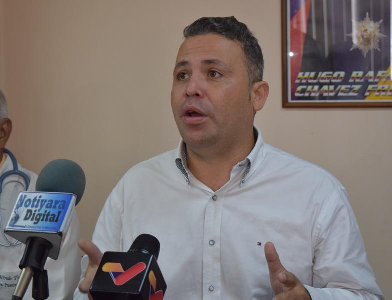 """Alcalde Rogger Daza:  """"Nuestra gestión la hemos enfocado en mejorar los servicios públicos en San Felipe"""""""