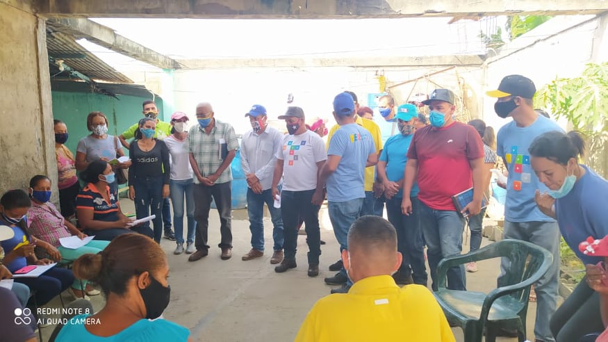 Líderes comunitarios realizan nuevas propuestas ante Ubch de Aroa en presencia del alcalde Brian Díaz