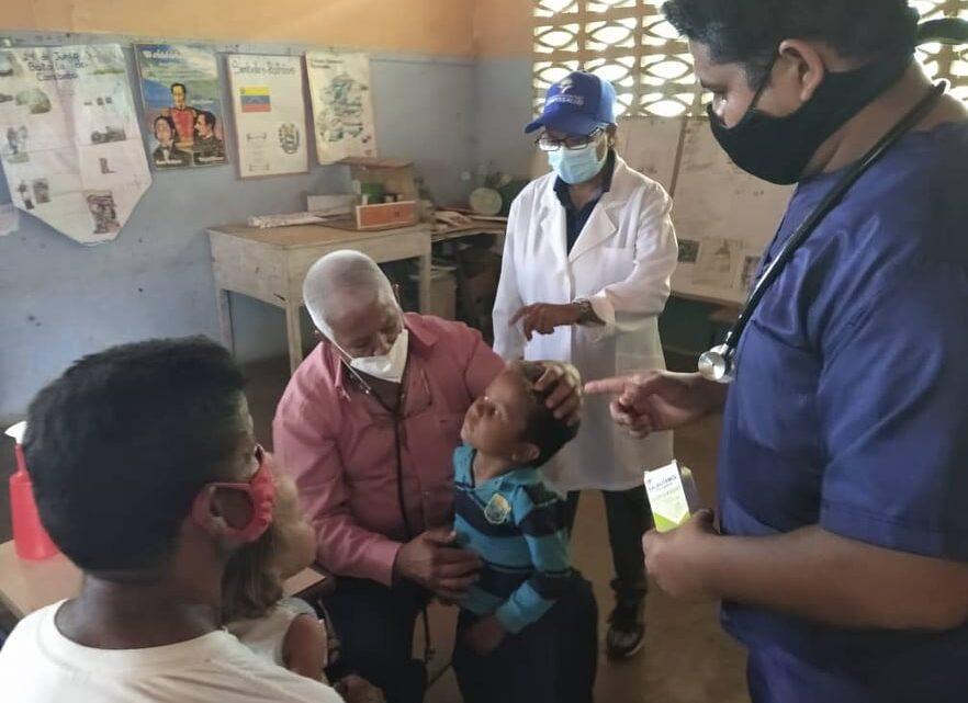 Corposalud toma comunidades de las zonas altas de Yaracuy para brindar atención médica integral a sus habitantes