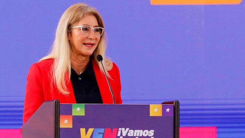 Cilia Flores: En cualquier momento se da el acercamiento con EEUU