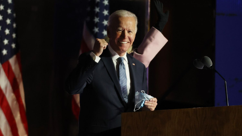 ¡Joe Biden es el nuevo presidente de Estados Unidos!