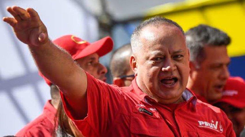 """Diosdado Cabello activa campaña del PSUV y exhorta: """"Hagamos bien la tarea"""""""