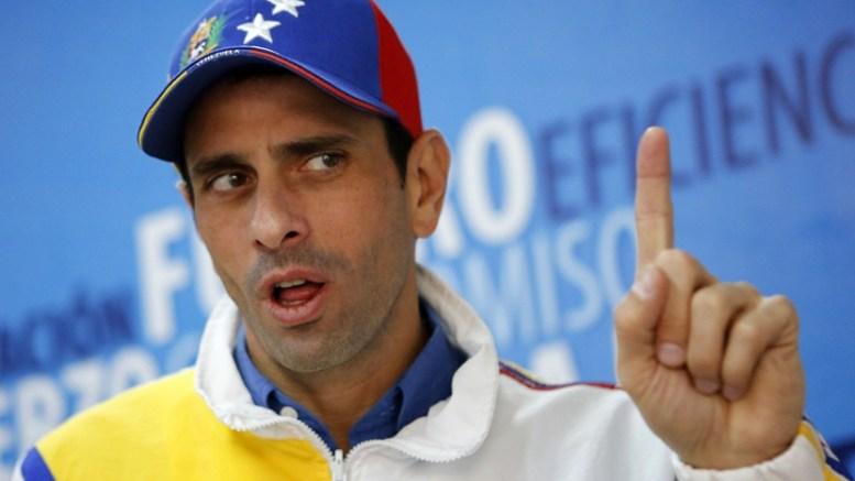 Excandidato venezolano Capriles pide a EEUU poner fin a «statu quo» sobre «interinato» de Guaidó