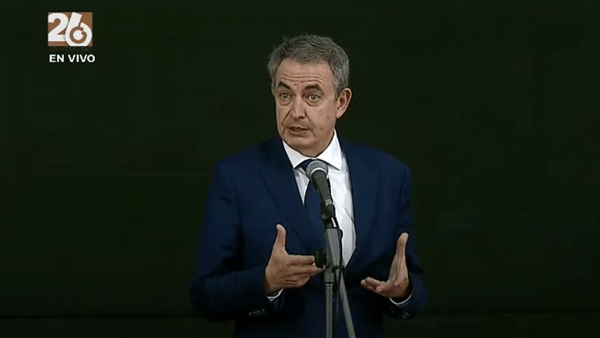 """Rodríguez Zapatero: """"Es el principio del final de unas sanciones injustas e incomprensibles"""""""
