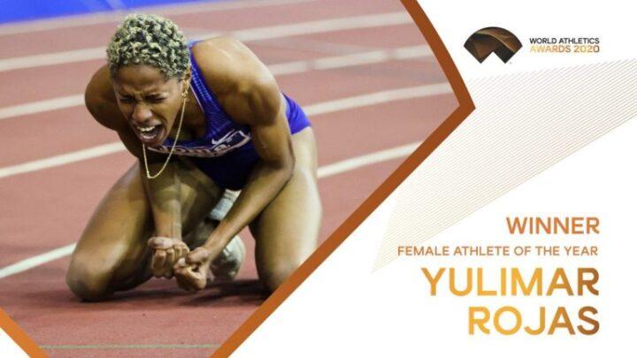 Yulimar Rojas es la Atleta Femenina del Año 2020