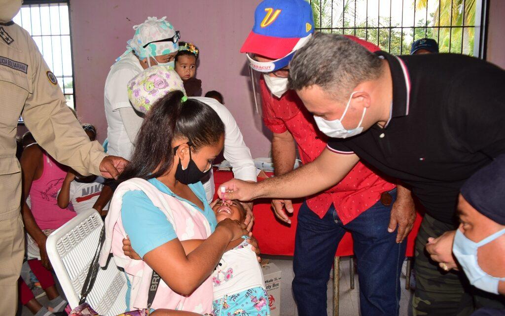 En el municipio San Felipe habitantes de Las Mercedes fueron atendidos con jornada integral