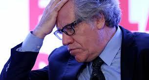 El secretario general de la OEA, Luis Almagro, llora de manera inconsolable ante el triunfo que le permitió al chavismo rescatar la Asamblea Nacional