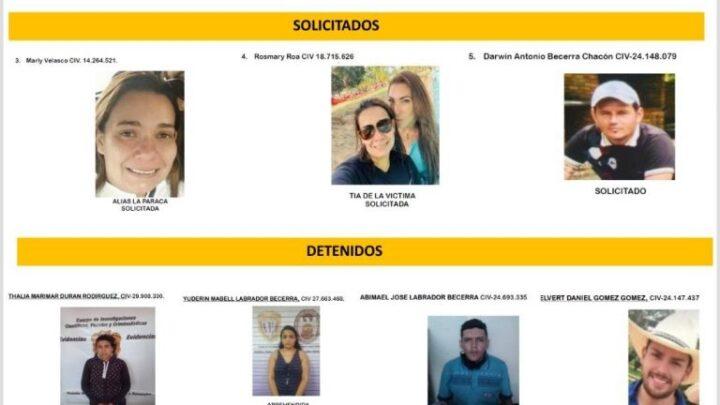 Tía de la niña secuestrada en Táchira está implicada en el hecho