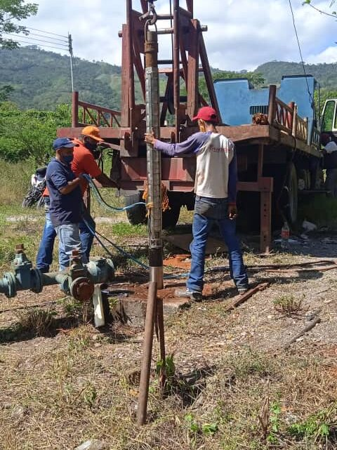 En el municipio Bolívar: 2.800 familias de El Tupé son favorecidas con la puesta en marcha de pozo profundo
