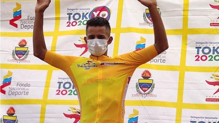 El yaracuyano Roniel Campos revalidó su título de campeón al adjudicarse la 56° edición de la Vuelta al Táchira
