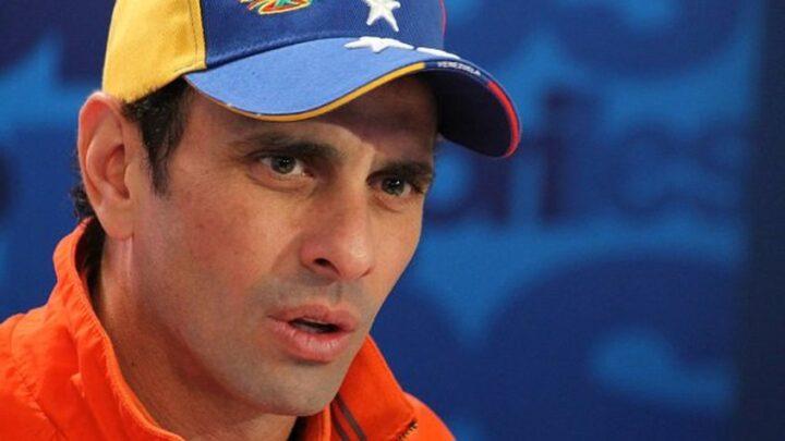 Henrique Capriles: Urge una solución política negociada en Venezuela