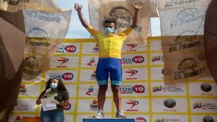 Anderson Paredes se llevó la sexta etapa de la Vuelta al Táchira