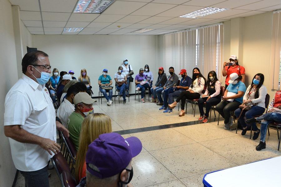 """Ministro Ildemaro Villarroel visita Base de Misiones""""La Negrita"""" en Yaracuy"""