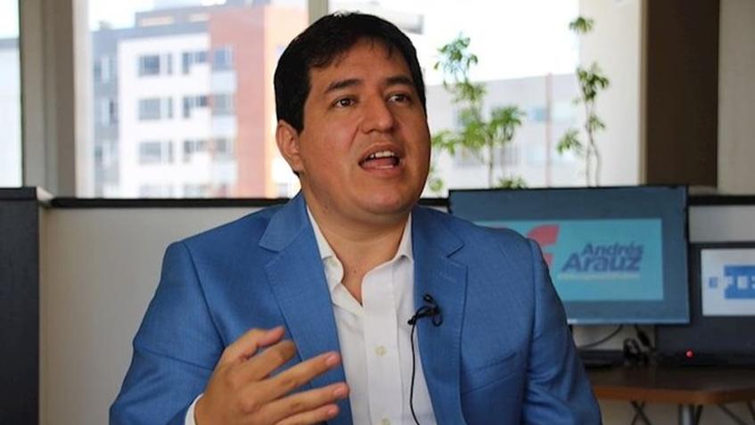 Arauz gana comicios en Ecuador pero necesitará segunda vuelta, según sondeos