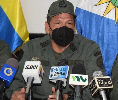 Siete bandas delictivas han sido desarticuladas en Yaracuy