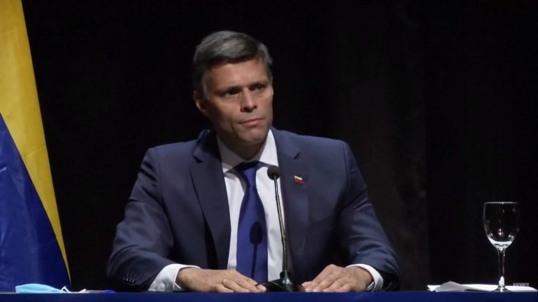 Fiscalía pide al reino de España ex-tradición de Leopoldo López