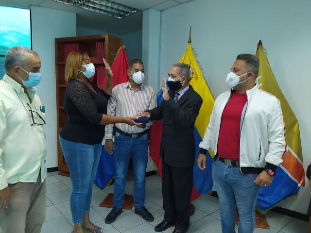 William Ojeda García fue juramentado como Cronista encargado del municipio San Felipe