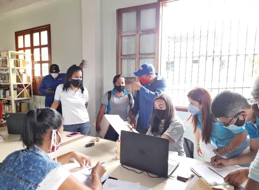 Alcaldía de Aroa se suma a las pesquisas de los casos de Covid-19 en el municipio Bolívar