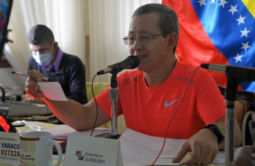 Julio León: El próximo 27 de junio se cumplirán las postulaciones del Psuv para luego escoger los candidatos que nos representarán en las próximas megaelecciones