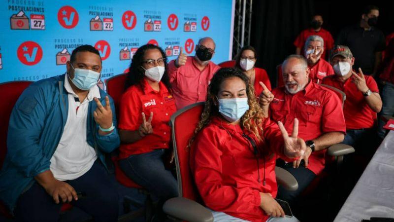 Dirigentes califican de exitoso proceso interno del PSUV de este domingo